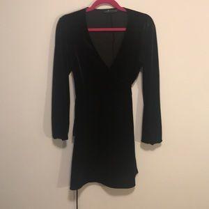 Zara Dresses - Zara velvet dress sz small in black